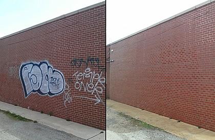Impresa di Pulizie Antonella - Cancellazione Scritte Murali